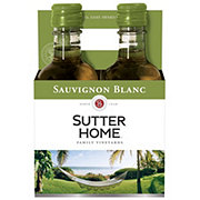 Sutter Home Family Vineyards Sauvignon Blanc 187 mL Bottles