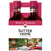 Sutter Home Family Vineyards White Merlot 187 mL Bottles