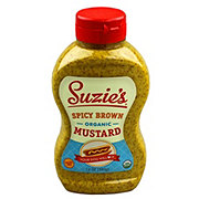 Suzies Organic Spicy Brown Mustard