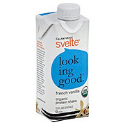 Svelte French Vanilla Organic Protein Shake