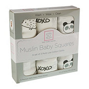 Swaddle Designs Muslin Baby Square-Grey