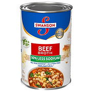 Swanson Reduced Sodium Beef Broth