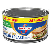 Swanson White Premium Chunk Chicken Breast with Rib Meat in Water