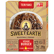 Sweet Earth Teriyaki Veggie Burger