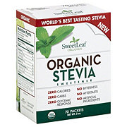 Sweet Leaf Organic Stevia Sweetener Packets