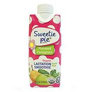 Sweetie Pie Organics Apple Pear Lactation Smoothie with Flaxseed & Fenugreek