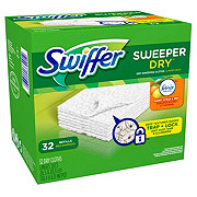 Swiffer Sweeper Dry Febreze Fresh Scent Sweet Citrus and Zest Sweeping Refills