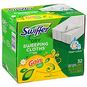Swiffer Sweeper Dry Gain Original Fresh Scent Cloth Refills