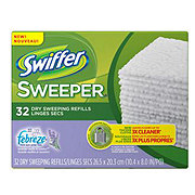 Swiffer Sweeper Lavender Vanilla and Comfort Dry Sweeping Refills