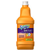 Swiffer Wet Jet Febreze Citrus And Light Scent Antibacterial Cleaner Refill