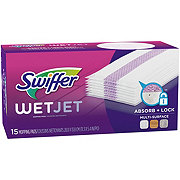 Swiffer WetJet Hardwood Floor Cleaner Multi-Surface Spray Mop Pad Refill
