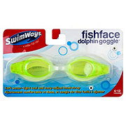 SwimWays Fish Face Dolphin Goggles