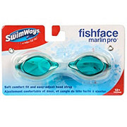 SwimWays Fish Face Marlin Pro Goggles, Assorted Colors