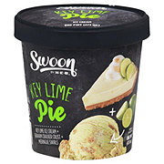 Swoon by H-E-B  Key Lime Pie Ice Cream