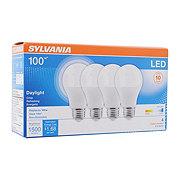 Sylvania 100-Watt Equivalent LED A19 Light Bulb, Daylight