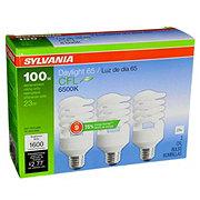 Sylvania 23W Super Saver Daylight 65 CFL Bulbs