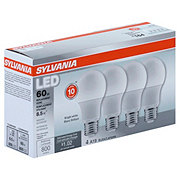 Sylvania 60-Watt Equivalent A19 LED Light Bulb, Bright White