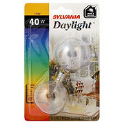 Sylvania Daylight White & Natural 40 Watt Indoor Light Bulbs