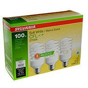 Sylvania Super Saver CFL 100W Soft White Light Bulb