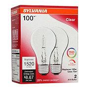 Sylvania Super Saver Clear 72 Watt  Halogen Light Bulbs