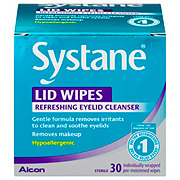 Systane Lid Wipes, Pre-Moistened Eyelid Cleansing Wipes