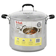 T-fal 12 QT Stainless Steel Stock Pot