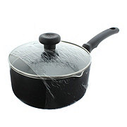 T-fal Soft Handle Black Sauce Pan with Lid