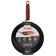 T FAL T Fal Enjoy Red Non Stick 12 Inch Fry Pan