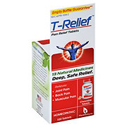 T Relief Natural Pain Relief Tablets