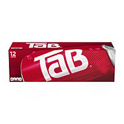 TaB Diet Cola Soda Fridge Pack 12 PK Cans