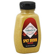 Tabasco Spicy Brown Hot Mustard