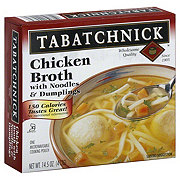 Tabatchnick Chicken Broth with Noodles and Dumplings