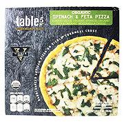 Table 5 Organic Spinach Feta Pizza