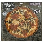 Table 87 Pizza Mushroom White Truffle Pie