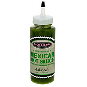 Taco Cabana Original Mexican Hot Sauce Jalapeno Peppers