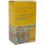 TajaTea Saffron Ice Tea Black Argentine Peach Mango