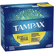 Tampax Cardboard Regular Tampons Unscented