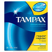 Tampax Cardboard Regular Tampons Unscented