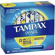 Tampax Pearl Regular Plastic Tampons Scented