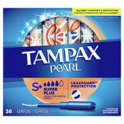 Tampax Pearl Super Plus Tampons Unscented