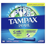 Tampax Pearl Super Tampons Unscented