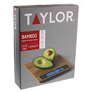 Taylor Bamboo Digital Kitchen Scale