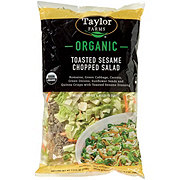 Taylor Farms Organic Toasted Sesame Chopped Salad Kit