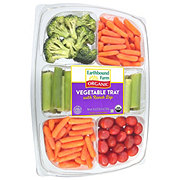 Taylor Farms Organic Vegetable Tray with Ranch Dip