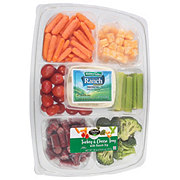Taylor Farms Turkey and Cheese Vegetable Tray