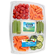 Taylor Farms Vegetable Tray with Snap Peas