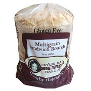 Taylor Made Gluten Free Bakery Multigrain Sandwich Rounds