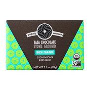 TAZA CHOCOLATE Stone Ground Organic 80% Dark Chocolate Bar