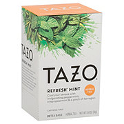 Tazo Refresh Mint Caffeine Free Filterbags Herbal Tea