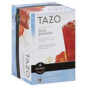 Tazo Sweetened Iced Passion Herbal Tea K-cup